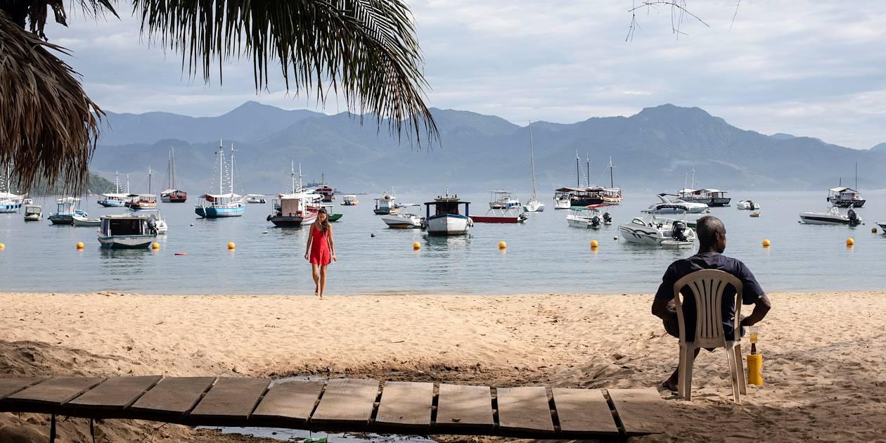 Vila do Abraão - Ilha Grande - Brésil