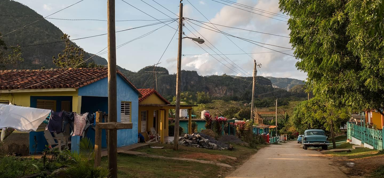 Dans les rues de Vinales - Vinales - Pinar del Rio - Cuba