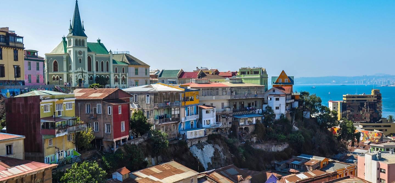 Ville portuaire Valparaiso - Chili