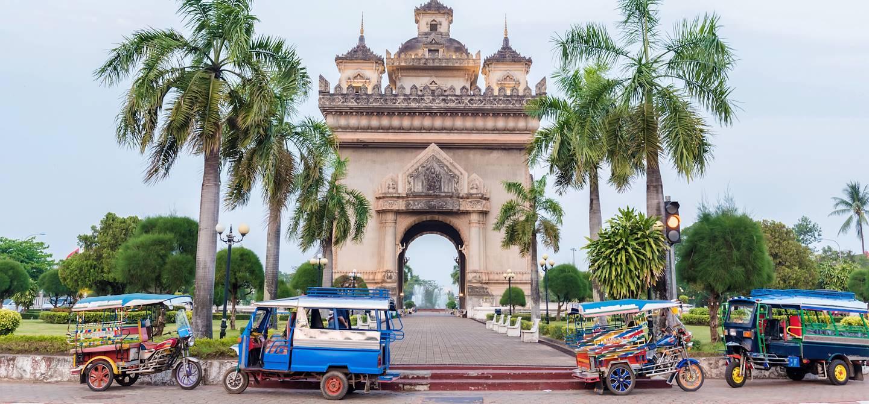 Arche de Patuxai - Vientiane - Laos