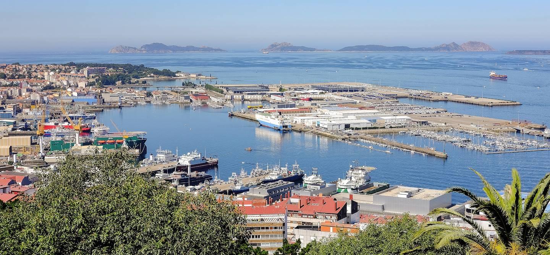 Vue générale - Vigo - Province de Pontevedra - Espagne
