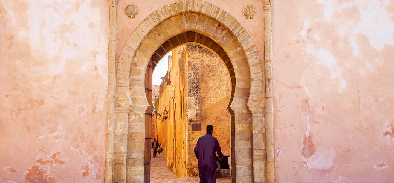 Porte d'entrée de la kasbah des Oudayas - Rabat - Maroc