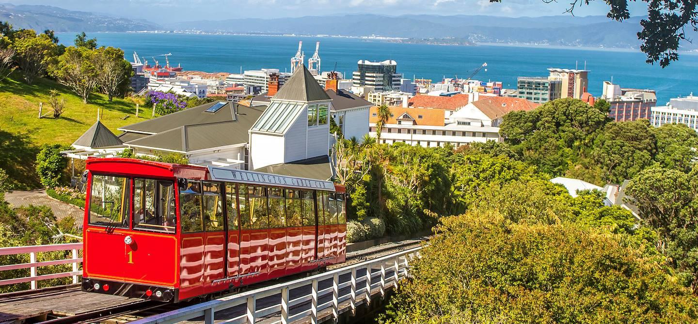 Téléphérique - Wellington - île du nord - Nouvelle-Zélande