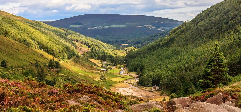 Parc national des montagnes de Wicklow - Irlande