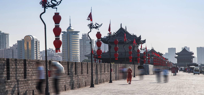 Anciens remparts de Xi'an - Province du Shaanxi - Chine