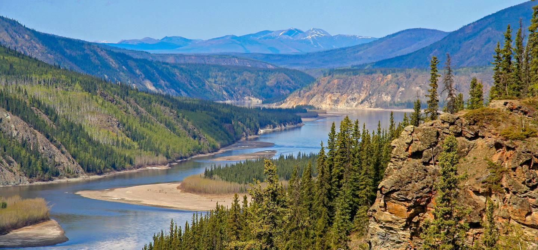 Rivière du Yukon - Canada
