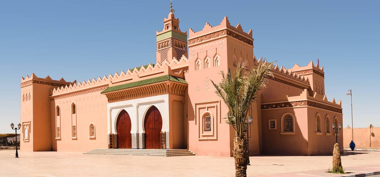Mosquée de Zagora - Région de Drâa-Tafilalet - Maroc