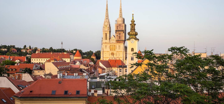 Toits de Zagreb - Croatie