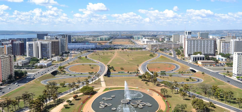 Vue générale - Brasilia - Brésil