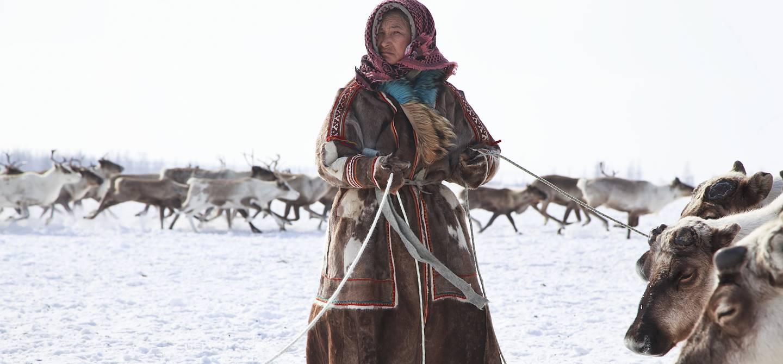 Portrait d'une femme Inuit - Groenland