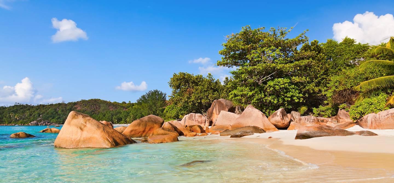 Plage d'Anse Lazio - île de Praslin - Seychelles