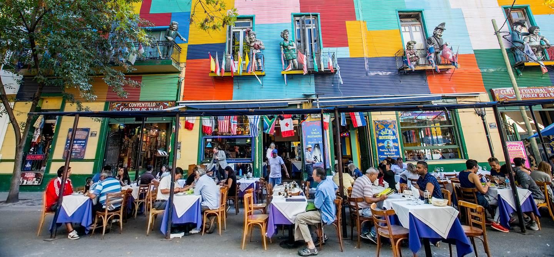 Restaurant dans le quartier de la Boca - Buenos Aires - Argentine