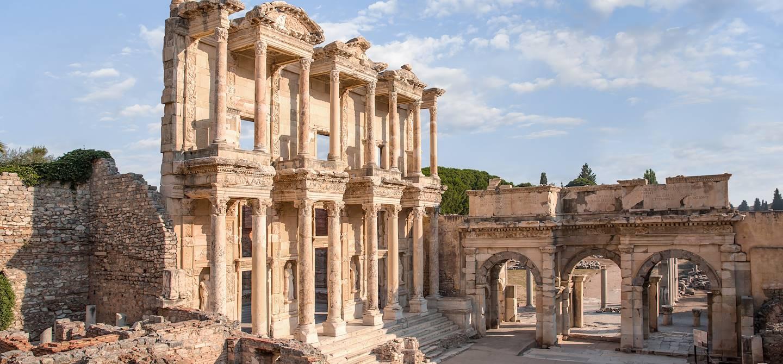 Bibliothèque de Celsus - Éphèse - Anatolie - Turquie