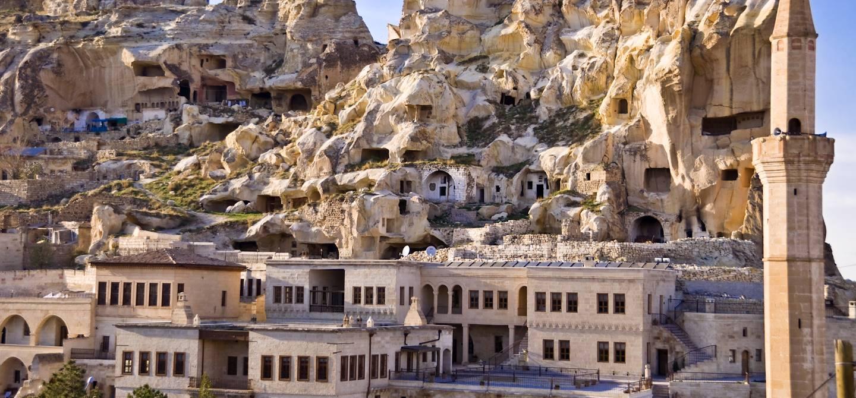 Anciennes maisons troglodytiques - Ville d'Urgup - Cappadoce - Turquie