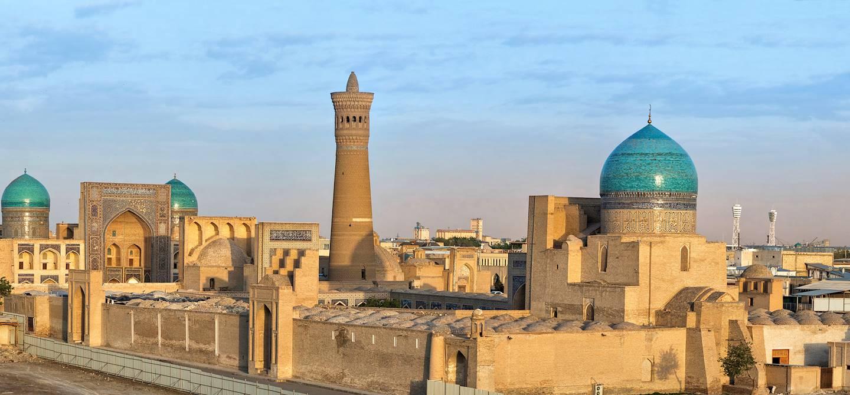 Panorama sur Boukhara - Ouzbékistan