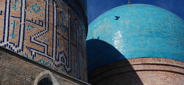 Mosquée Kok Gumbaz dans le complexe Dorut Tilyovat - Chakhrisabz - Ouzbekistan