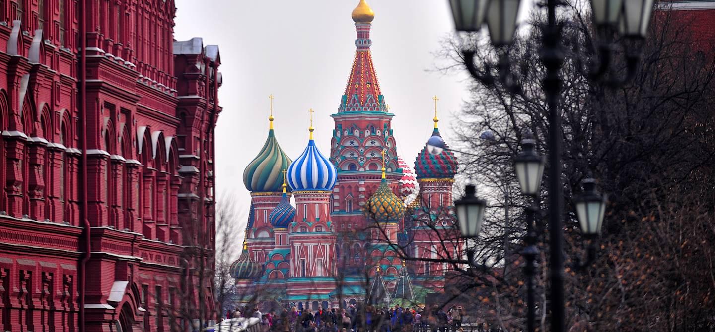 Cathédrale Basile-le-Bienheureux - Moscou - Russie