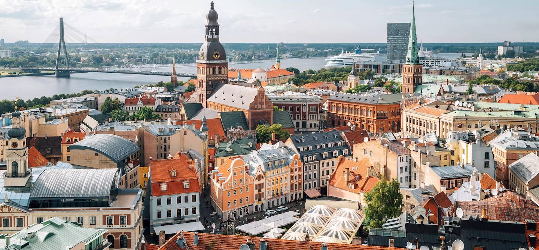Panorama sur Riga - Lettonie
