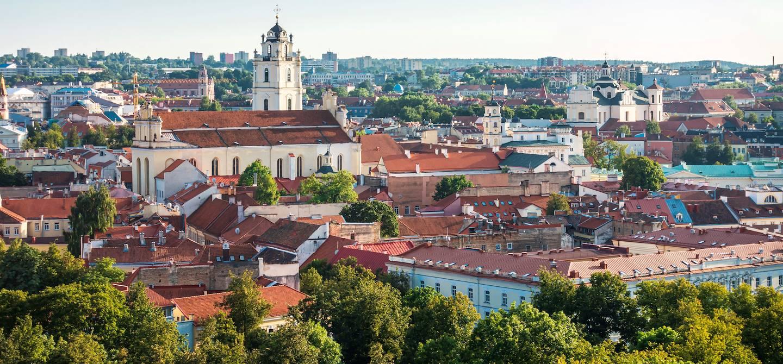 Panorama sur Vilnius - Lituanie