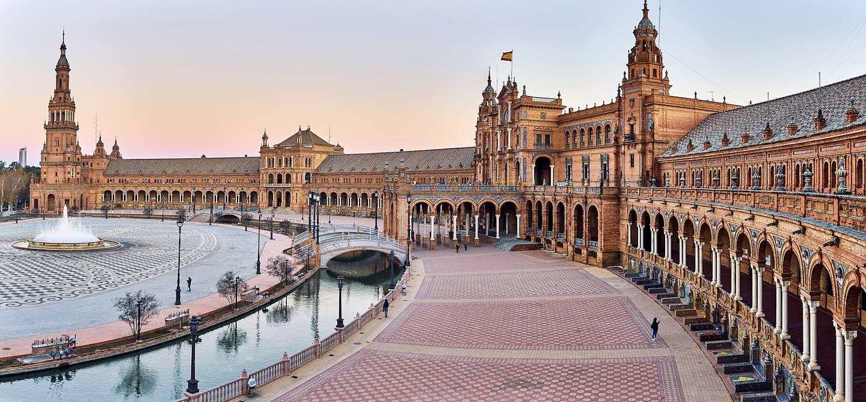Place d'Espagne - Séville - Andalousie - Espagne