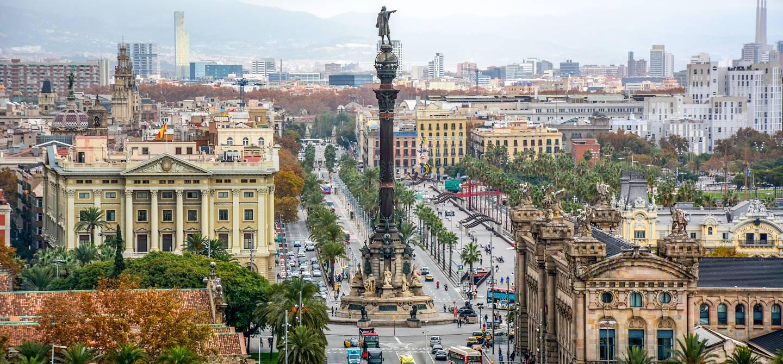 Mirador de Colom - Barcelone - Catalogne - Espagne