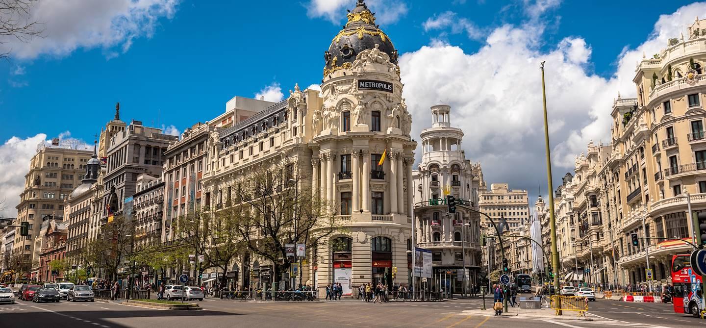 Gran Via - Madrid - Espagne