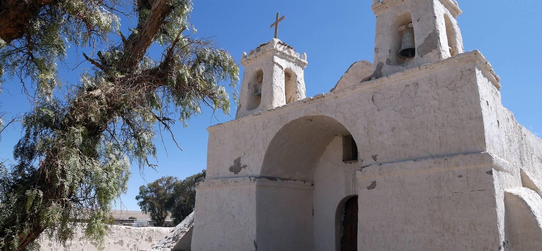 Eglise de Chiu Chiu - Région de Calama - Chili