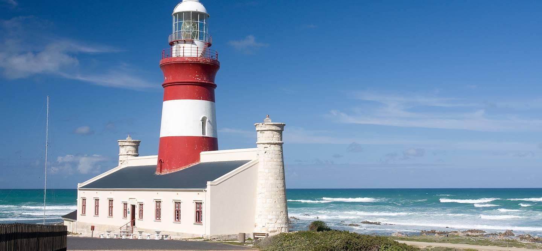 Le phare du Cap Agulhas - Cap occidental - Afrique du Sud
