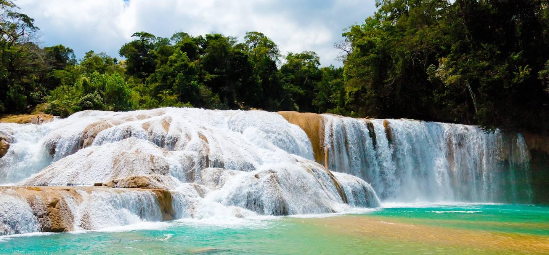 Cascades de Agua Azul - Chiapas - Mexique