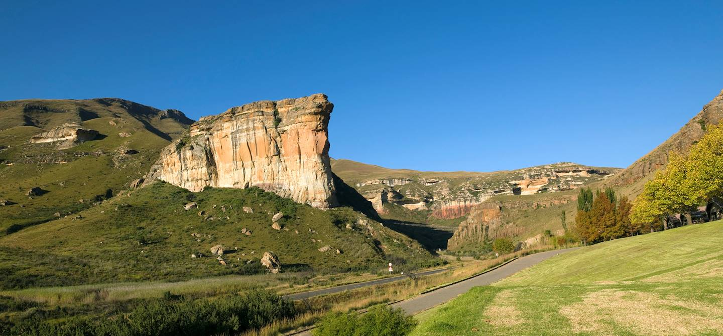 Le Rocher du Titanic - Golden Gate National Park - Afrique du Sud
