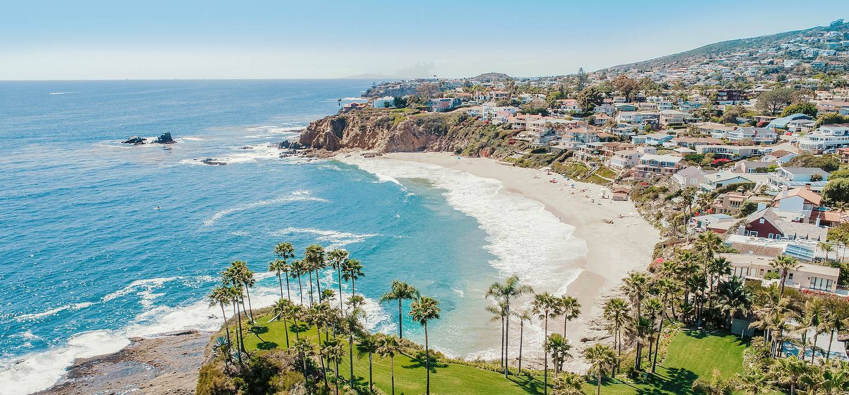 Panorama sur Laguna beach - Californie - États-Unis
