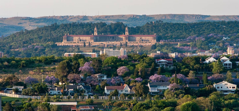 Les Union Buildings, siège du gouvernement - Prétoria - Afrique du Sud