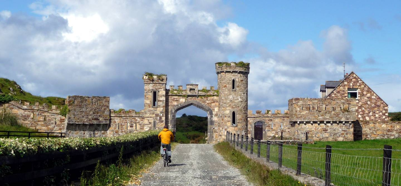 Clifden Castle - Galway - Irlande