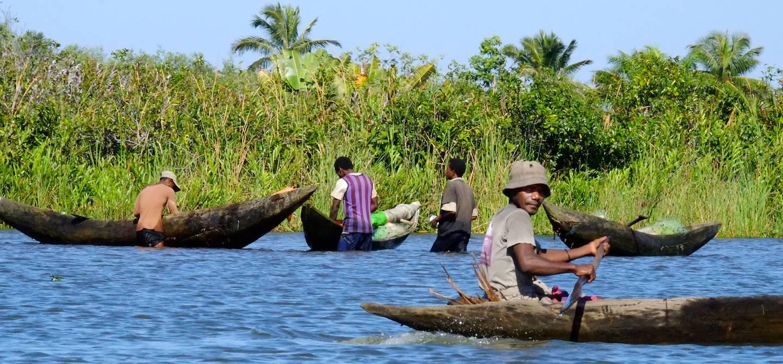 Autour du canal des Pangalanes à Manakara - Région Vatovavy-Fitovinany - Madagascar