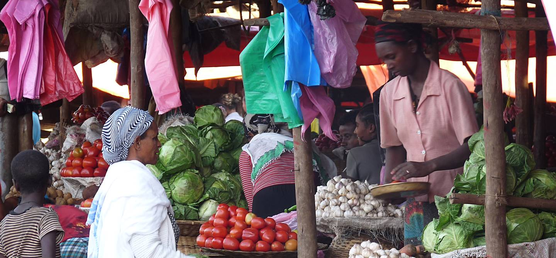 Marché de Bahar Dar - Ethiopie