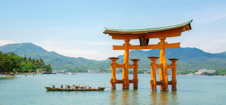 Itsukushima-jinja- Miyajima Island - Préfecture d'Hiroshima - Japon