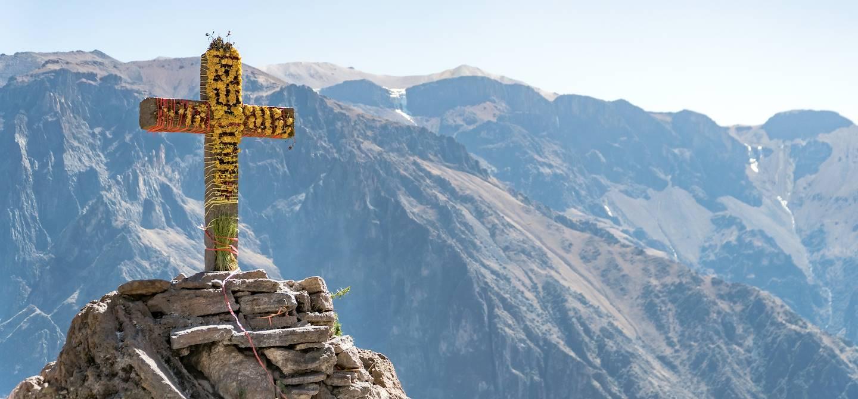 La croix des condors et le Canyon de Colca - Coporaque - Pérou