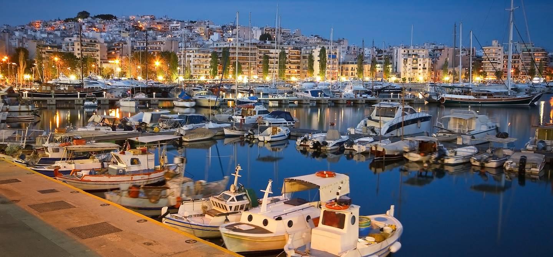 Le port de Mikrolimano - Le Pirée - Athènes - Grèce