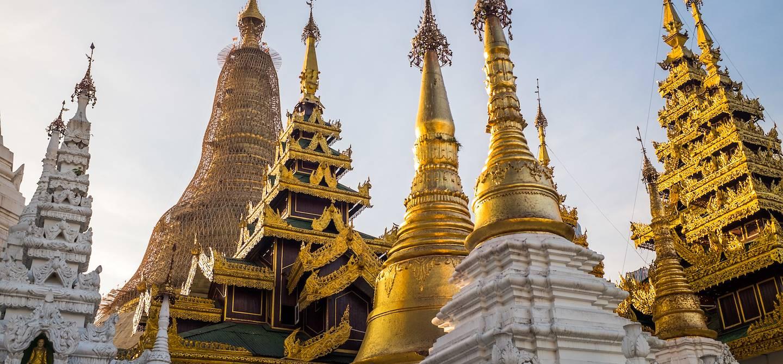 Pagode Shwedagon - Rangoon - Birmanie