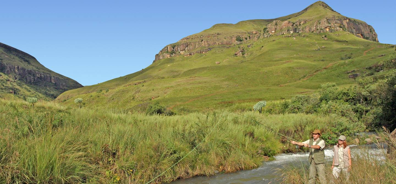 Didima Rest Camp - Drakensberg - Afrique du Sud