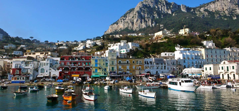 Le port de Capri - Italie