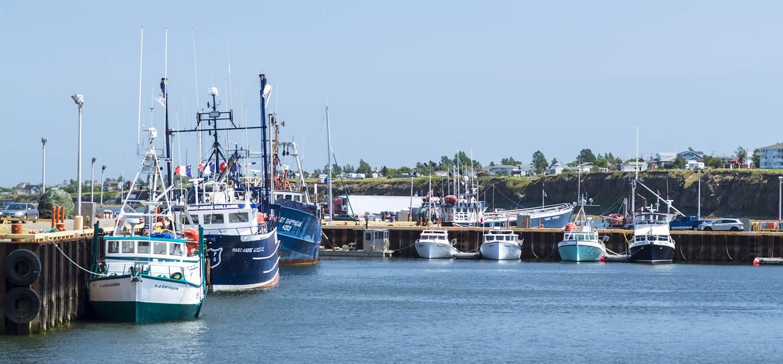 Port de Caraquet - Nouveau-Brunswick - Canada