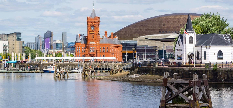 Baie de Cardiff - Pays de Galles - Royaume-Uni