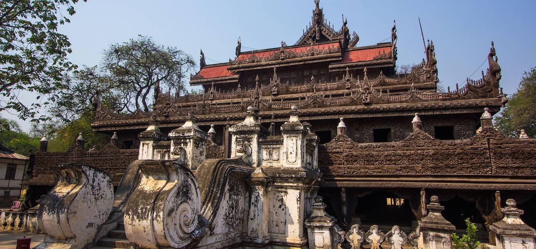 Monastère de Shwenandaw - Mandalay - Birmanie
