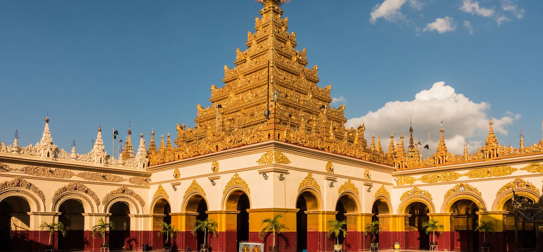 La pagode Mahamuni - Mandalay - Birmanie