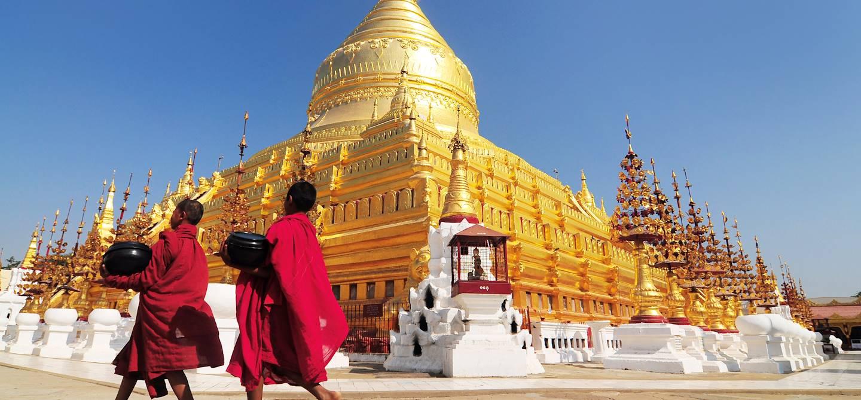 Pagode Shwezigon - Birmanie