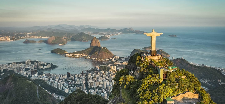 Christ du Corcovado - Rio de Janeiro - État de Rio de Janeiro - Brésil