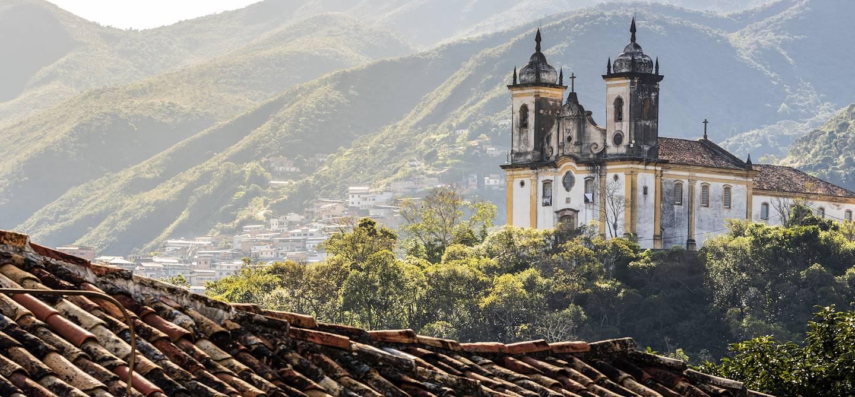 Eglise Saint François - Ouro Preto - Brésil