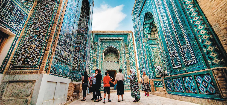 Nécropole de Shah-I-Zinda -  Samarcande - Ouzbekistan