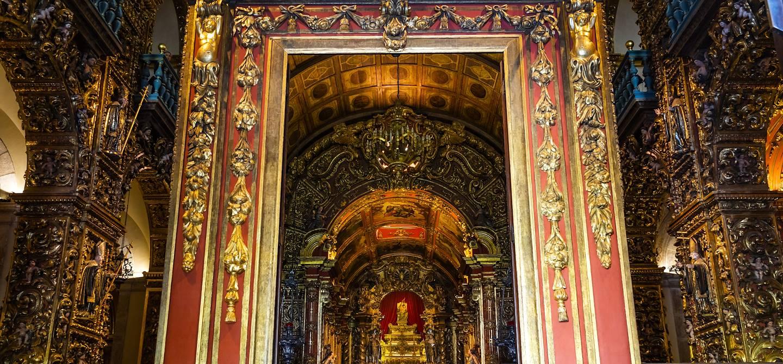 Porte d'entrée du monastère Saint-Benoît - Rio de Janeiro - Brésil